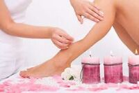 Offering free waxing