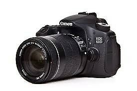 Canon 60D DSLR Camera - Fantastic Condition Low Shutter Count