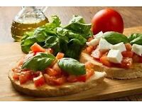 Italian restaurant looking for sous chef