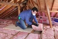attic insulation,roofing,roof repair/mold removal,ventilation