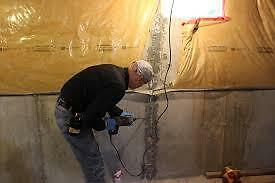 Wet Leaky Basement |1-800-334-6290 | Basement Epoxy Crack Repair Peterborough Peterborough Area image 2