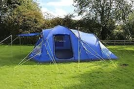 Eurohike 6 man tent ( huge family tent ) with lots of c&ing equipment only used & Eurohike 6 man tent ( huge family tent ) with lots of camping ...