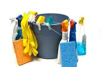 Besoin d'aide pour nettoyer? Need help to clean? 25$ heure/hour