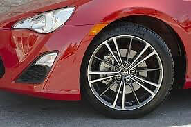 """17"""" new Aluminum Scion FRs rims with Michelin tires TPMS incl"""