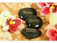 Relaxing massage in relaxing quiet atmosphere