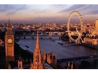 A two-night 4* London stay daily breakfast, river cruise and return train