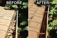 Eavestrough Cleaning &Gutter Guard Installation