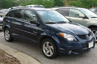 2003 Pontiac Vibe wanted to buy