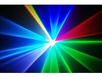 laser hire for your partys