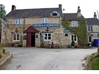 Kitchen staff required - chef/cook/kp - immediate start. Small but friendly Cotswold pub