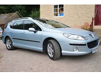 Peugeot 407 sw 2.0 Hdi estate . Very low miles