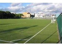 Football every Tuesday and Friday near Bermonsdey, Canada water