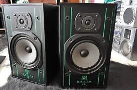 Vintage Wharfedale Delta 70 two-way passive monitors
