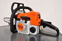 "Stihl MS170 Brand New 16"" Chainsaw WITH CASE EXTRA CHAIN & HAT!"