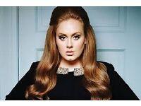 2 x Adele VIP tickets opening night Wednesday 28/6/17 London section 121 amazing seats!!