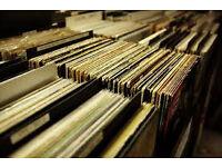 Mix of 100 assorted vinyl LPs
