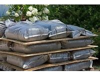 Bags of top quality top soil