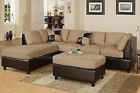 """BESTDRY UPHOLSTERY SECTIONAL """"L SHAPED """" CLEANING  $100"""