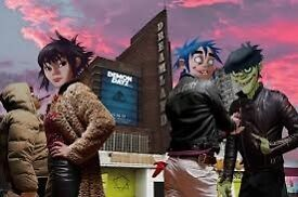 Gorillaz live @ Demon Dayz festival in Margate + Red Bull Special Guests