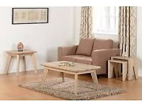 New oak effect large coffee table get it today £65