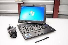 "Lenovo IBM Laptop Tablet With Pen 4gig Ram Intel Core 2 Dou 250gig Hard drive Wi-Fi Webcam 12.0"" $175 Only"