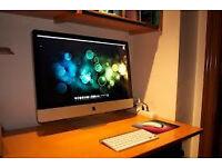 IMAC intel core i5 4gb ram 1tb hard drive 27 inch 2k screen