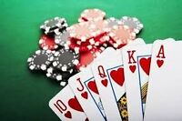 5-5 NL poker on Mon,Tue,Fri,Sat at Northyork area