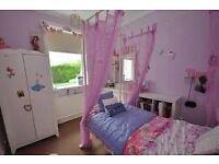 SINGLE BED 4 POSTER FOR LITTLE GIRLS £79 or nearest offer