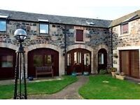 2 bed cottage for rent. Currievale farm. £800 pcm. Available 1st sept.