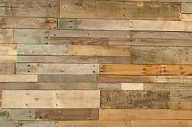 Weathered Pallet wood for interior decor