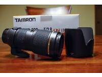 Tamron 70-200mm 2.8 macro Canon fit