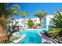 Stunning pool view apartment in a seafront complex in Costa Adeje Tenerife