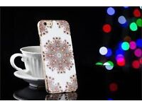 Beckberg Rhinestone Swarovski Crystal Diamond Cover Case For iPhone 6/6s/6plus/6sPlus/Galaxy S5/S6 E