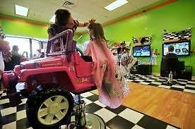 FUN HAIR SALON JUST FOR KIDS FRANCHISE OPPORTUNITY!!