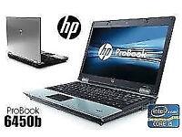 PROFESSIONALLY REFURBISHED HP6450 LAPTOP 4GB RAM 250GB HDD INTEL i5 WEBCAM OFFICE 6 MTH WRNTY VGC