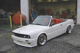 Wanted bmw e30 convertible