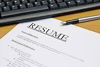 Resume Writer basic starting at $25