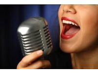 Singing lessons for all ages with recording