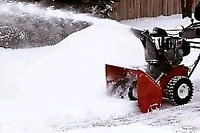 The snows coming, don't get stuck in your driveway.