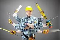 Renovations Handyman Bricoleur Homme a tout faire