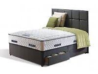 Sealy Platinum Super King Size Divan Bed