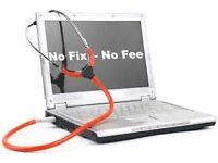 Computer repairs and other services no fix no fee 7 days/week home visits.
