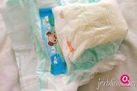 Diapers for compost