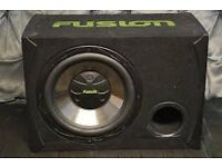fusion reactor subwoofer 1200 watts