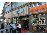Waiters required @ Turtle Bay Derby
