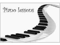 Music Lessons, Piano, Keyboard, Brass and Music Theory.