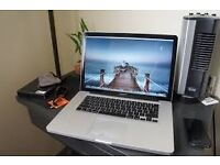 "Macbook Pro 2012 15"" - i5 - 8GB - 500GB HDD- Logic Pro , Final cut"