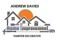 ANDREW DAVIES Painter and Decorator free estimates and advice
