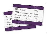 Heathrow Express Tickets Paddington to Heathrow, 5x tickets £10 each