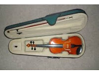 antoni practice violin with case and bow nice christmas gift
